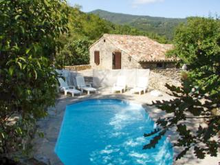 Rustic 2-bedroom country house in the Gard, with terrace and pool - Saint-Roman-de-Codieres vacation rentals
