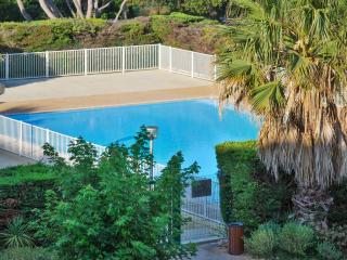Delightful studio in Six-Fours, the Var, with large pool and stunning sea views - Le Pradet vacation rentals