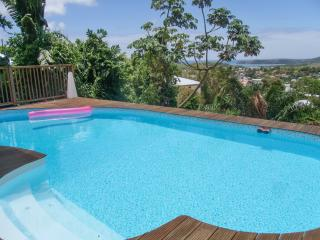 Peaceful villa in La Trinité, Martinique, with 4 bedrooms, sea-view terrace & swimming pool - Le Carbet vacation rentals