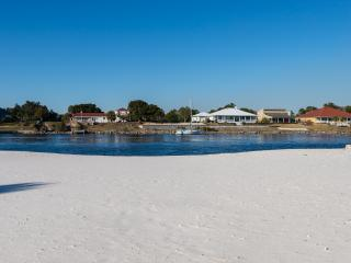 Waterfront Beachfront Home with own Beach! 4 Bd, Sleeps 10,Pets ok, Marina close - Perdido Key vacation rentals