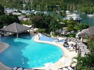 Marigot Bay Luxury 2 bedroom hotel suite - Marigot Bay vacation rentals