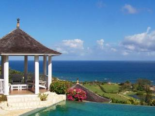 Ocean view No Le Hace at Tryall club- fully staffed with infinity pool, near beach & golf - Montego Bay vacation rentals