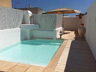 Charming town house with pool on roof terrace - Tiggiano vacation rentals