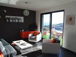 CASA PICASSO, T2 design avec vue mer - Cerbere vacation rentals