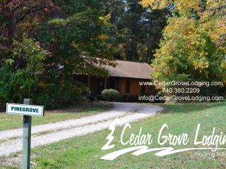 Cedar Grove Lodging - Pine Grove Cabin - Logan vacation rentals