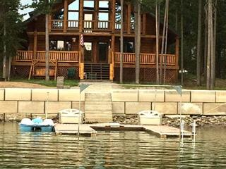 Knotty Pine Lodge is waterfront on the Island Park Reservoir - Island Park vacation rentals