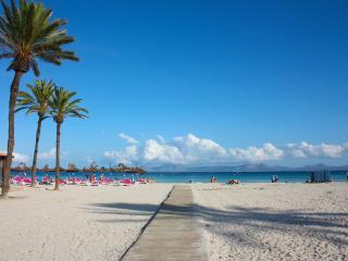 Canopus Apartment 23- apartment right on the beach - Puerto de Alcudia vacation rentals