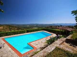 Lovely Villa with Balcony and Satellite Or Cable TV - Vagliagli vacation rentals