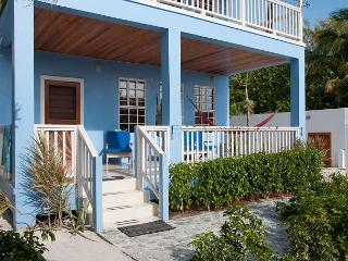 New Beach Front 2 bedroom 1 bath home with private pool, dock, Beach & AC - Caye Caulker vacation rentals