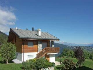 Comfortable 3 bedroom Anzere Villa with Hot Tub - Anzere vacation rentals