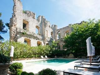 Elegant Chateau D Aix features pool, chapel, tennis, 12 acres of garden & maid service - Vauvenargues vacation rentals