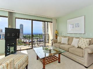 Beautiful 17th floor ocean-view condo with Toto washlet, FREE parking & WiFi! - Waikiki vacation rentals