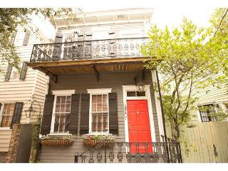Cute two story home with a balcony overlooking beautiful Greene Square - Savannah vacation rentals