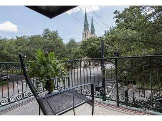 Spacious two bedroom with a private balcony overlooking Liberty Street - Savannah vacation rentals