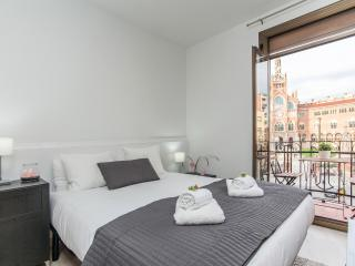 1 Bedroom Apt with great view on Hospital Sant Pau - Barcelona vacation rentals