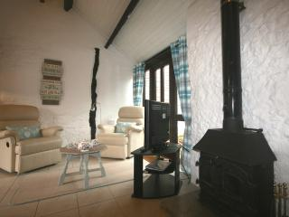 Apple Cottage with logburner + indoor pool/spa access & alpacas - Whitchurch Canonicorum vacation rentals