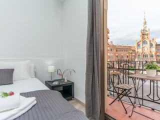 Gaudí Views - One Bedroom Apt with Amazing View - Barcelona vacation rentals