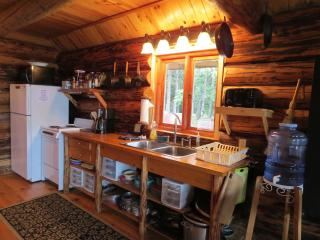 Paradise West Log Cabin with beach access, sauna - Haines vacation rentals