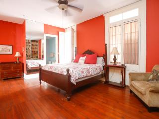 Stunning flat, balcony overlooking Frenchmen St. - New Orleans vacation rentals