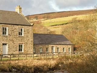 RIVERSIDE COTTAGE, single-storey, ideal for a small family or couple, countryside walks, near Rookhope and Stanhope, Ref 916782 - Rookhope vacation rentals