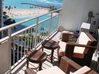 Beautiful Beachfront Condo With Ocean Views!17FL - Honolulu vacation rentals