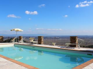 Apt Paola-Pool on the Hill between Lucca Pisa - Buti vacation rentals