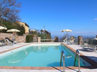 Apt Melania-Pool on the Hill between Lucca Pisa - Buti vacation rentals