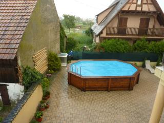 """Au P'tit Bonheur"" – Bright house in Biesheim, Alsace, with private terrace, garden and pool - Munster vacation rentals"
