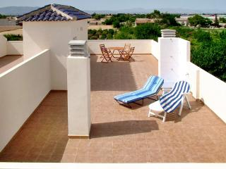 Penthouse apartment on the Costa Blanca with 2 bedrooms, balcony, large sun terrace & pool - La Marina vacation rentals