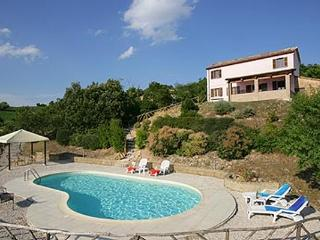 Detached Farmhouse with superb views and pool - Fossombrone vacation rentals