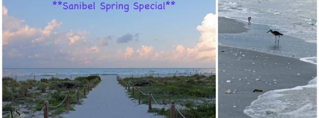 Spring Special - week of April 11, 2015 - *Spring Special* Sanibel Island's Best Kept Secret - Sanibel Island - rentals