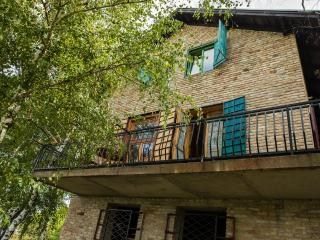 Blue room with extra large double bed and bathroom - Sremski Karlovci vacation rentals