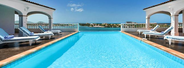 SPECIAL OFFER: St. Martin Villa 62 Exceptional Views Of Simpson Bay, The Sparkling Caribbean Sea And The Islands Of Saba, St Eustatius And St. Kitts. - Image 1 - Terres Basses - rentals