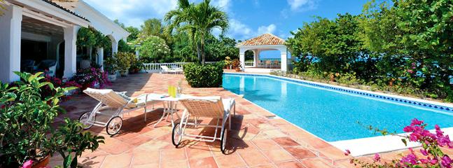 St. Martin Villa 75 A Fabulous 3 Bedroom Villa Located On Sublime Plum Bay Beach, With Its Beautiful Sunsets And Crystal Clear Water. - Image 1 - Plum Bay - rentals