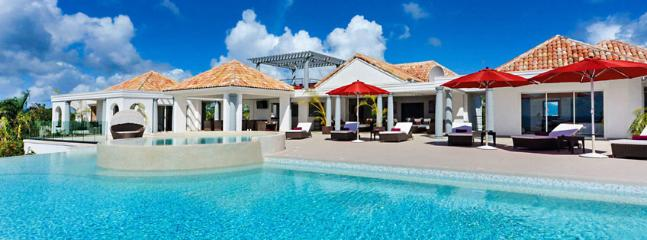 SPECIAL OFFER: St. Martin Villa 76 A Brand New 3 Bedroom Villa In The Gated Terres-Basses Community Offering Sweeping Views From - Terres Basses vacation rentals