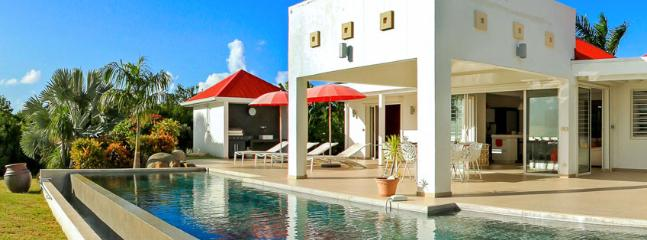 SPECIAL OFFER: St. Martin Villa 87 The Luxurious Villa Overlooks The Caribbean Sea And Offers Gorgeous Sunset Views. - Image 1 - Terres Basses - rentals