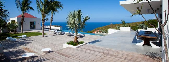 AVAILABLE CHRISTMAS & NEW YEARS: St. Barths Villa 10 You Will Be Astonished By The Amazing Sunset Ocean View. - Lurin vacation rentals