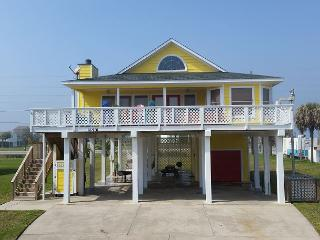 Sun, sand, great views all while sitting in the hot tub at Mimbrosa! - Galveston vacation rentals