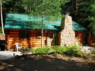 Cabin By The Creek - Log Cabin by Bittercreek, Great Deck, Fire Pit, Picnic Area, Hammock - Red River vacation rentals