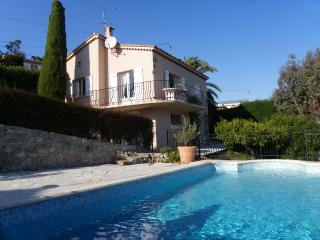 Charming villa 2 bedrooms private pool sea view - Théoule sur Mer vacation rentals