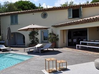 Mirabel 132728 villa with beautiful sea views, infinity pool, airconditioning. - Saint-Maxime vacation rentals