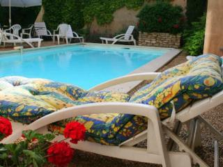 La Plume B1 garden swimming pool Luberon Provence - Apt vacation rentals