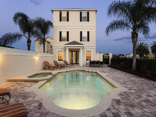 Elegant Paradise   3,648 sq. ft of Luxury in Liberty Bluff Area of Reunion, featuring a Theater Room & Games Room with Pool Table & Foosball - Kissimmee vacation rentals