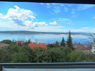 Relaxi 4 for 5 with a fantastic sea view - Dramalj vacation rentals