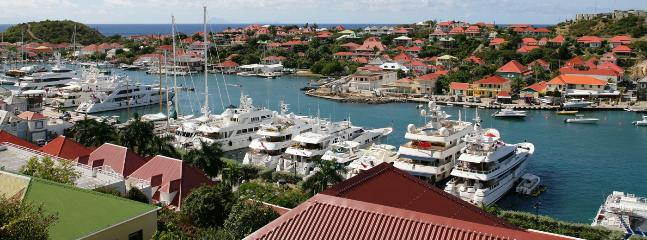SPECIAL OFFER: St. Barths Villa 117 The Villa Is Overlooking The Harbour Of Gustavia And The Ocean. - Gustavia vacation rentals