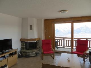 2 bedroom Apartment with Wireless Internet in Veysonnaz - Veysonnaz vacation rentals