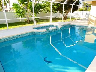 House with Pool & Spa...living room, family room.. - Cape Coral vacation rentals