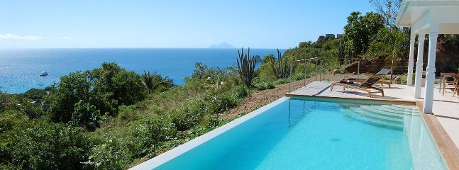 SPECIAL OFFER: St. Barths Villa 148 This Saint Barth Holiday Villa Rental, Has A Magnificent View On The Ocean. - Anse Des Cayes vacation rentals