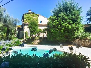 Luxury country house near the French Riviera with 3 bedrooms, lush garden and swimming pool - Greolieres vacation rentals