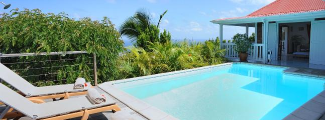 SPECIAL OFFER: St. Barths Villa 140 The Villa Is Located On Vitet Hillside In Saint Barthelemy. - Vitet vacation rentals